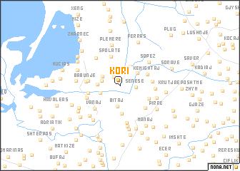 map of Kori