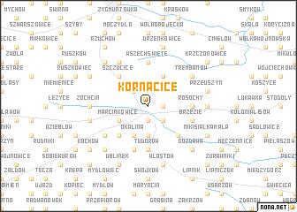 map of Kornacice