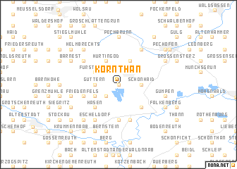 map of Kornthan