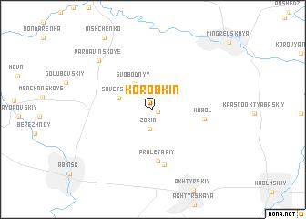map of Korobkin