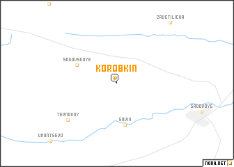 map of Korobkin