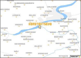 map of Korotavtsevo