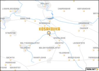 map of Kosakovka