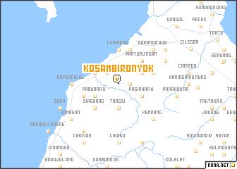map of Kosambironyok