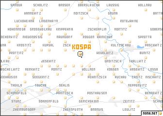 map of Kospa