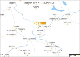 map of Kostina
