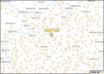 map of Kostur