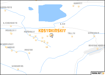 map of (( Kosyakinskiy ))