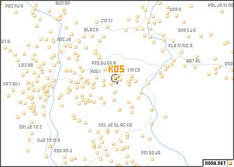 map of Kos