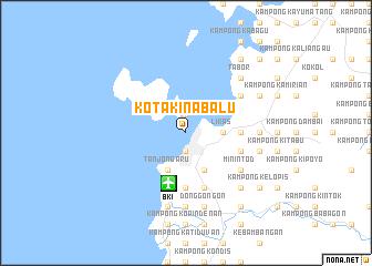 Kota Kinabalu Malaysia Map Nonanet