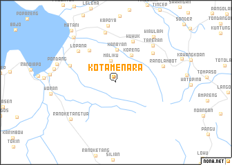 map of Kotamenara