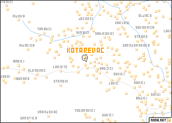map of Kotarevac