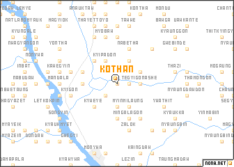 map of Kothan