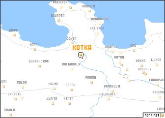 Kotka Estonia map nonanet