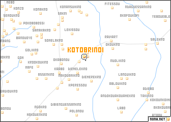 map of Kotobrinoi