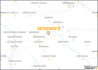 map of Kotovskoye