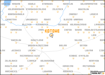 map of Kotowe
