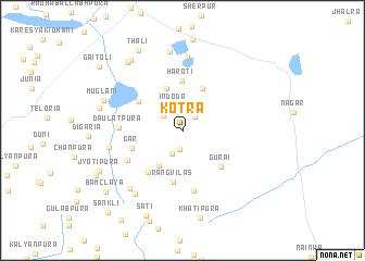 Kotra India Map Nonanet