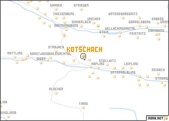 map of Kötschach