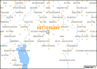 map of Kottendorf