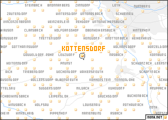 map of Kottensdorf