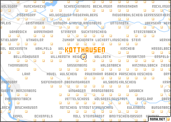 map of Kotthausen