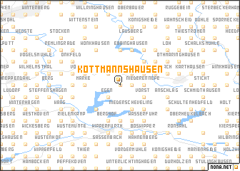 map of Kottmannshausen