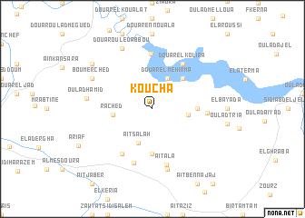 map of Koucha