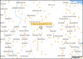 map of Kougouarene
