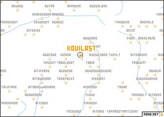 map of Kouilast