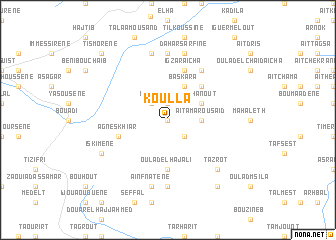 map of Koulla