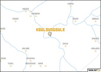 map of Kouloungoulé