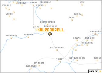 map of Kourgou Peul