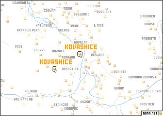map of Kovashicë