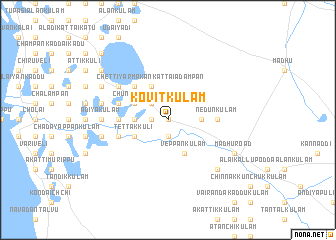 map of Kovitkulam