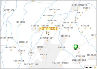 map of Koyankoz