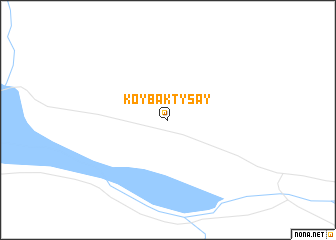 map of Koybaktysay