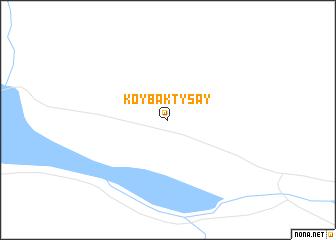 map of Koybaktysay