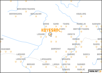map of Ko Yé San (2)