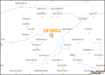 map of Koyuncu
