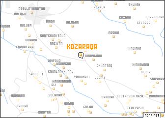 map of Kōzaraqa