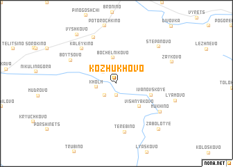map of Kozhukhovo