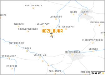 map of Kozilovka