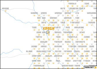 map of Kpagh