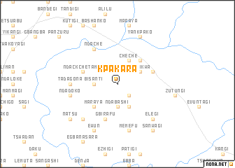 map of Kpakara