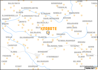 map of Krabate