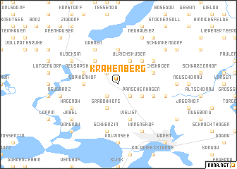map of Krähenberg