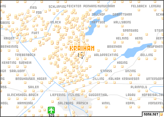 map of Kraiham