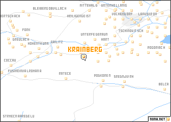 map of Krainberg