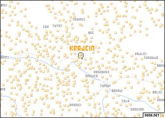 map of Krajčin
